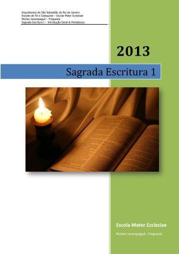 Apostila – Sagrada Escritura 1 - Textos para Estudo