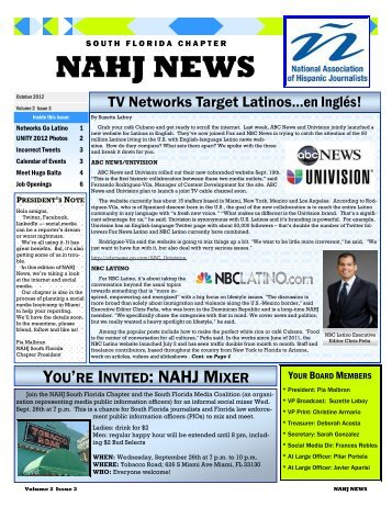 Nahj-October-2012-Newsletter