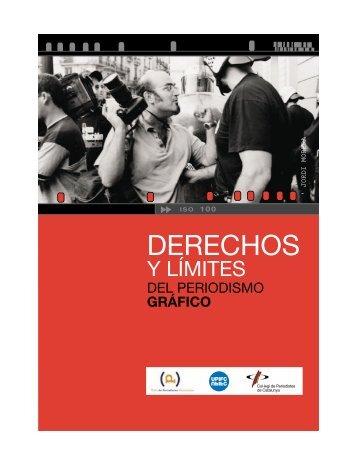 Derechos y límites del periodismo gráfico - Col·legi de Periodistes ...