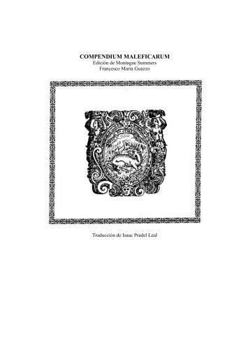 COMPENDIUM MALEFICARUM - Editorial Club Universitario