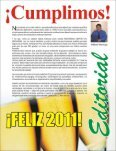Download Diciembre 2010 - Panorama Deportivo Magazine - Page 4