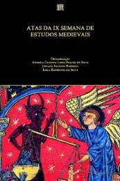 Atas da IX Semana de Estudos Medievais - Programa de Estudos ...