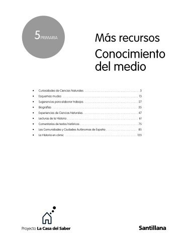 Conocimiento del medio - recursos para nuestras aulas 2.0