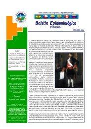 Octubre - Organismo Andino de Salud - Convenio Hipólito Unanue