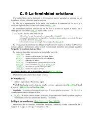 C. 9 La feminidad cristiana