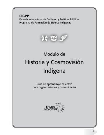Historia y Cosmovisión Indígena - Fondo Indígena