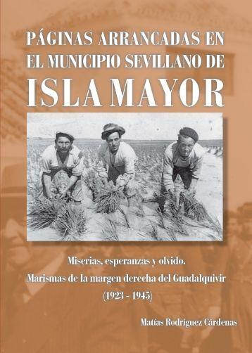 Páginas arrancadas en el municipio sevillano de Isla Mayor