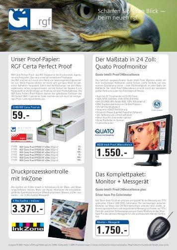 beim neuen rgf Unser Proof-Papier: RGF Certa Perfect Proof Der ...