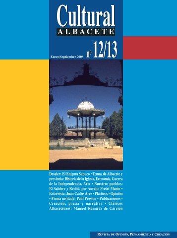 Cultural AB Nº 12/13:REVISTA CULTURAL ALBACETE