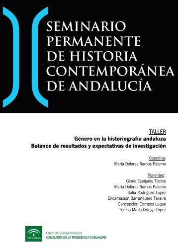Género en la historiografía andaluzaBalance de resultados y ...