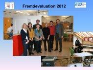 Ergebnisse der Fremdevaluation 2012 - Robert-Gerwig-Schule