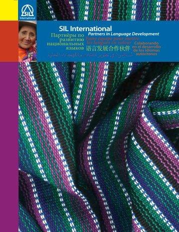 Colaborando en el Desarrollo de los - SIL International
