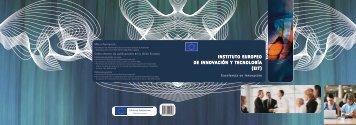 instituto europeo de innovación y tecnología (eit) - European ...