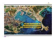 PLAN DIRECTOR DE INFRAESTRUCTURAS ... - Ports de Balears