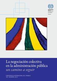 La negociación colectiva en la administración pública un camino a ...