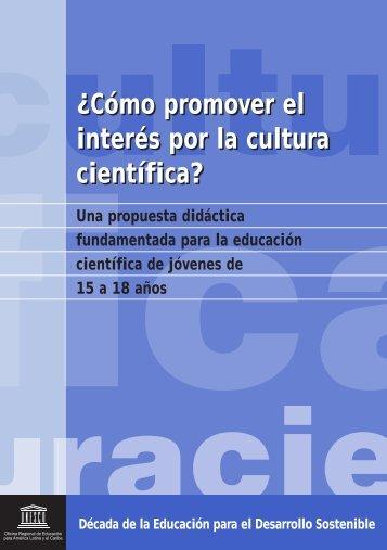 ¿Cómo promover el interés por la cultura ... - unesdoc - Unesco
