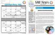 Calendario Marzo / Abril - Sierra Madre Institute