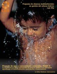 Proyecto de agua y saneamiento sostenible ... - Pasos Honduras