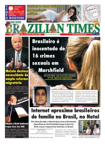 Internet aproxima brasileiros de família no Brasil ... - Brazilian Times