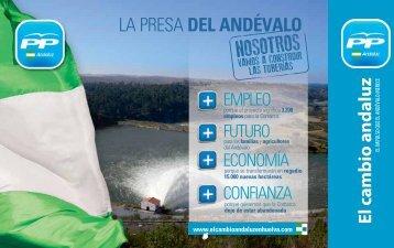 La Presa del Andévalo - El Cambio Andaluz en Huelva