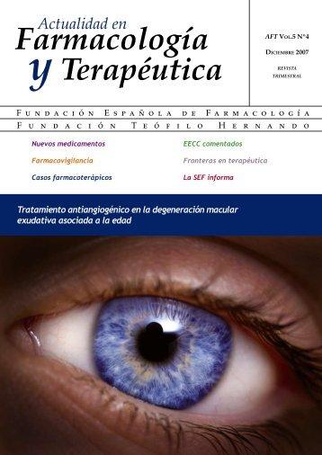 AFTdiciembre.pdf - Sociedad Española de Farmacología