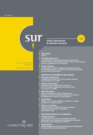 revista internacional de derechos humanos - Sur