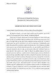 1. María José Ulate Rojas del Liceo Santo Cristo de Esquipulas.
