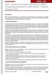 ICMS - Incentivo Fiscal Destinado à Implantação ou ... - Contadez