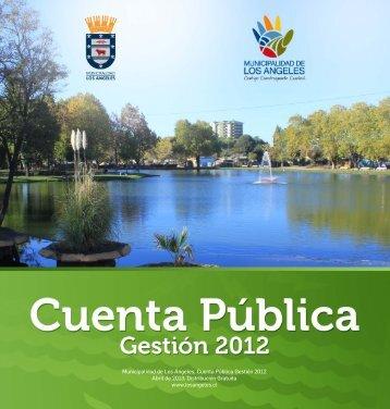 Municipalidad de Los Ángeles, Cuenta Pública Gestión 2012 Abril ...