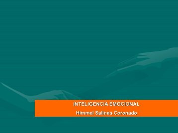 "Diapositivas ""Inteligencia emocional"" - Ugel 05"