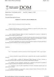 institui Comitê Governamental de Gestão Compartilhada - CGGC