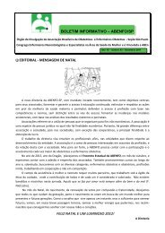 BOLETIM INFORMATIVO - ABENFO/SP - Dezembro de 2011