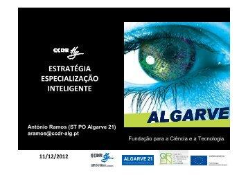 Especialização Inteligente na Região do Algarve - FCT