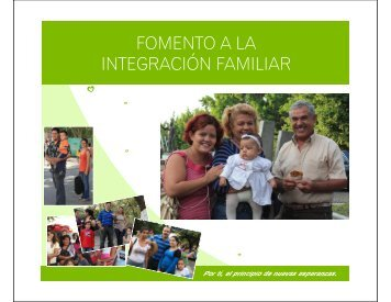 FOMENTO A LA INTEGRACIÓN FAMILIAR - DIF Estatal Colima