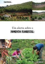 FOMENTO FLORESTAL: