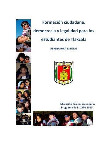 Formación ciudadana, democracia y legalidad para los estudiantes ...