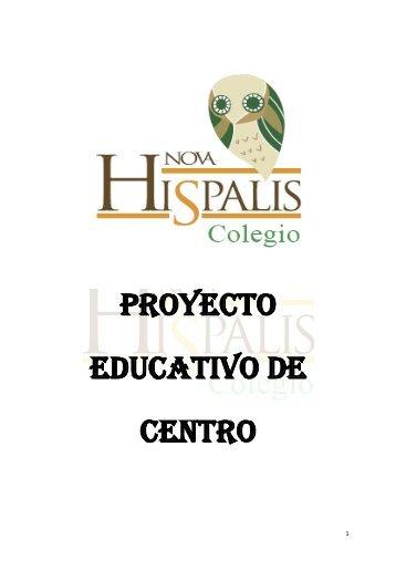 Proyecto Educativo de Centro (PEC) - Colegio Nova Hispalis.