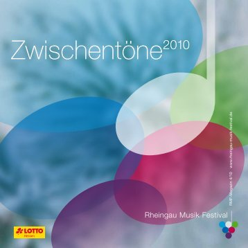Zwischentöne2010 - Rheingau Musik Festival