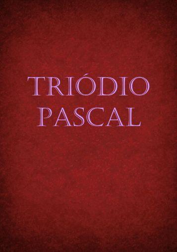 TRIÓDIO PASCAL - Riordan.ru