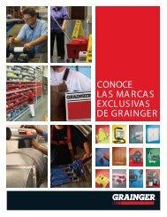 CONOCE LAS MARCAS EXCLUSIVAS DE GRAINGER