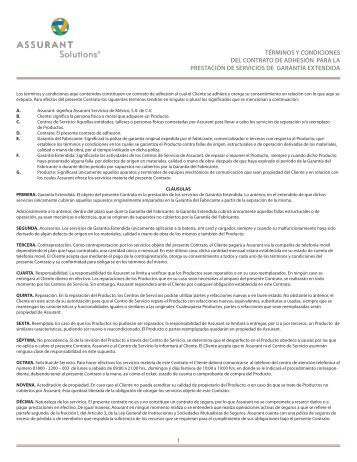 Pólizas de Coberturas - Movistar