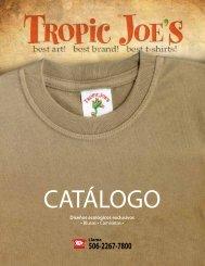 Diseños ecológicos exclusivos • Blusas • Camisetas • - Tropic Joe´s
