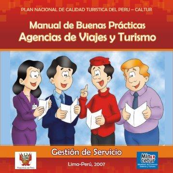 MBP Agencias de Viajes y Turismo V1 - Ministerio de Comercio ...