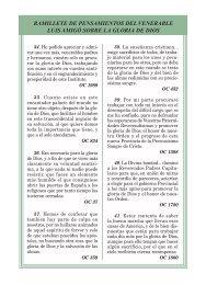 RAMILLETE DE PENSAMIENTOS DEL VENERABLE LUIS AMIGÓ ...