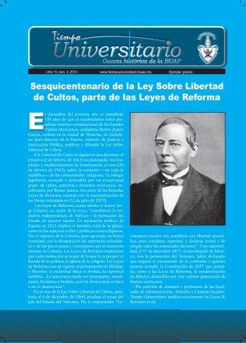Leyes de reforma ok.indd - Archivo Histórico Universitario ...