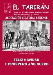 Nº 67 - AÑO XXXI - Asociación Cultural Senense