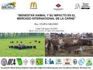 bienestar animal y su impacto en el - Sociedad Agropecuaria de ...
