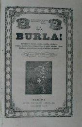 Page 1 Page 2 BMRL/5 â MERIDA 13 60. yf» Page 3 LA BURLA ...