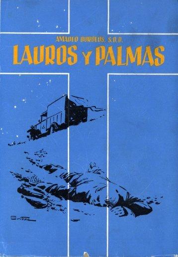 Lauros y palmas, de Amadeo Burdeos, sdb - Hispania Martyr