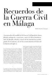 A setenta años del estallido de la Guerra Civil Española el gran ...